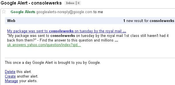google alerts gratis